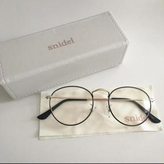 snidel - ♡snidel 伊達眼鏡♡