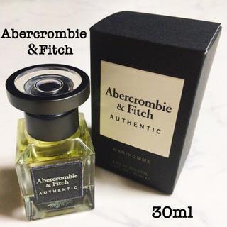 アバクロンビーアンドフィッチ(Abercrombie&Fitch)のアバクロ♡オーセンティック 30ml(香水(男性用))