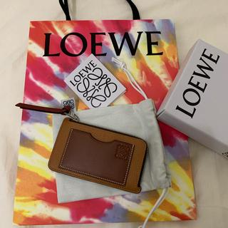 ロエベ(LOEWE)のLOEWE カードケース 阪急百貨店購入 新品(名刺入れ/定期入れ)