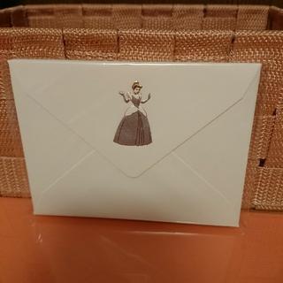 ディズニー(Disney)のディズニープリンセス ミニ封筒 シンデレラ(カード/レター/ラッピング)