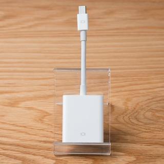 アップル(Apple)のapple アップル Mini DisplayPort - VGAアダプタ(その他)