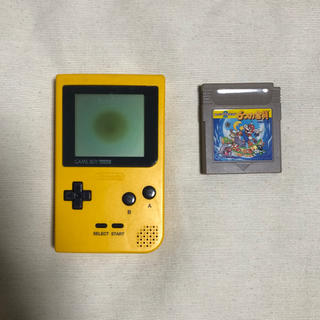 ニンテンドウ(任天堂)のゲームボーイポケット×6つの金貨 セット(携帯用ゲーム機本体)