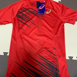 asics - アシックス ランニングシャツ 新品 Sサイズ