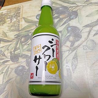 カルディ(KALDI)のカルディ もへじ 果汁100%! 沖縄県産 シークワーサー(ビタミン)
