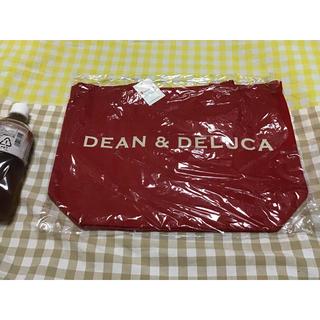 ディーンアンドデルーカ(DEAN & DELUCA)のディーンアンドデルーカ ホリデートートバッグ レッド DEAN&DELUCA(エコバッグ)