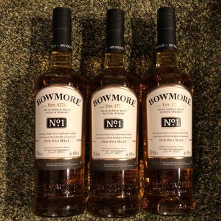 ボウモア ナンバーワン No.1   3本セット(ウイスキー)