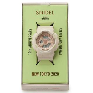 ジーショック(G-SHOCK)のSNIDEL Baby-G コラボ 腕時計 CASIO 新品未使用 (腕時計)