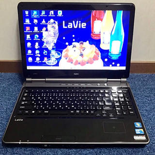 NEC - 爆速・ブラック i5 SSD128+HDD640GB NEC LL750/C
