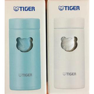 タイガー(TIGER)のTIGER魔法瓶/夢重力ボトル200ml(アザーブルー)(クールホワイト)(水筒)