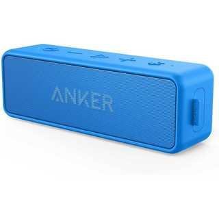 Anker Soundcore2 スピーカー 24時間連続再生ブルー(スピーカー)