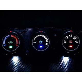 ミツビシ(三菱)のRVR GA4W 三菱重工(MHI製) エアコンパネル LED打ち替え済み品(車種別パーツ)