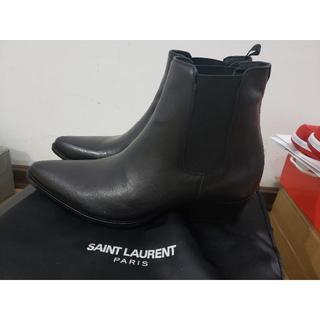 サンローラン ブーツ メンズ 革靴