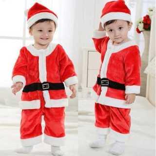 ボーイズ 子どもサンタコスプレ ベビー コスプレ ミニサンタ クリスマス サンタ(衣装一式)