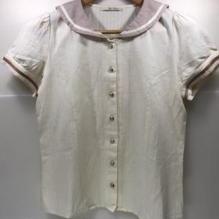 アマベル(Amavel)のセーラー襟ブラウス トップス 半袖(シャツ/ブラウス(半袖/袖なし))