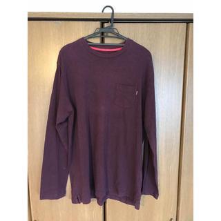 シュプリーム(Supreme)のsupreme ロンT XL シュプリーム ロングTシャツ 半袖Tシャツ 美品(Tシャツ/カットソー(七分/長袖))