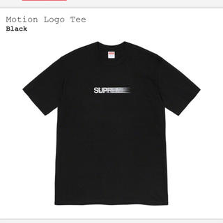 Supreme - Supreme Motion Logo Tee Black Mサイズ Tシャツ