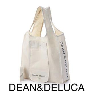 ディーンアンドデルーカ(DEAN & DELUCA)のDEAN&DELUCA  ショッピングバック エコバック ナチュラル(エコバッグ)