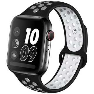 【B21】Apple Watchスポーツバンド38/40mm(ブラック) (その他)