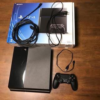 PlayStation4 - PS4 ジェット・ブラック 500GB (CUH-1100AB01)