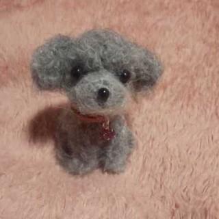 羊毛フェルトハンドメイドトイプードル(ぬいぐるみ)