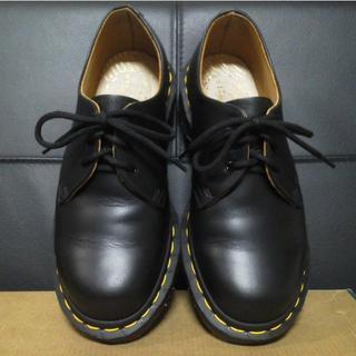 ドクターマーチン(Dr.Martens)の【極美品】Dr.Martens 英国製 VINTAGE1461 UK4 3ホール(ローファー/革靴)