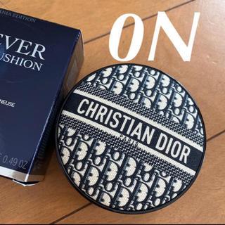 クリスチャンディオール(Christian Dior)の❤️ディオール 0N 限定 ロゴマニア クッションファンデーション 新品未使用(ファンデーション)