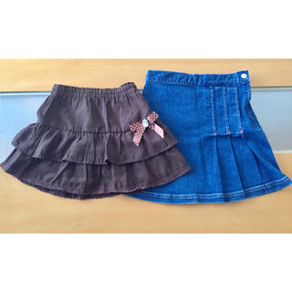 ニシマツヤ(西松屋)の120 スカート 2枚(スカート)