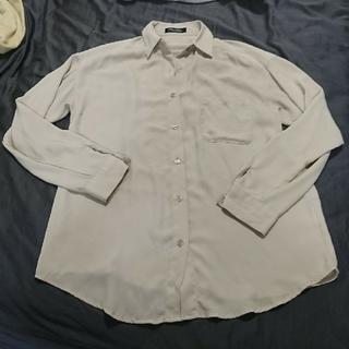 one*way - とろみシャツ シアーシャツ シースルーシャツ