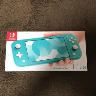 Nintendo Switch -  Nintendo switch  任天堂 ライト 本体 ターコイズ