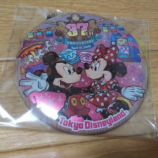 ディズニー(Disney)のディズニー   37周年    缶バッジ   ミッキー   ミニー(バッジ/ピンバッジ)