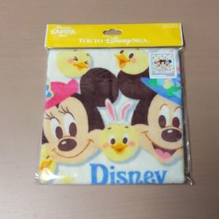 ディズニー(Disney)のディズニー シー限定 イースター 2020 うさピヨ ウォッシュ タオル(キャラクターグッズ)