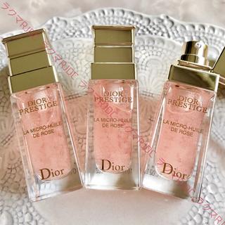 ディオール(Dior)の【現品同量28,600円相当】ディオール プレステージ ユイルドローズ 美容液(ブースター/導入液)
