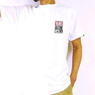 ヴァンズ(VANS)の残り1点 メンズ レディース バンズ 半袖tシャツ ホワイト(Tシャツ/カットソー(半袖/袖なし))