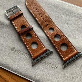 アップルウォッチ(Apple Watch)のApple Watch HERMES レザーストラップ(その他)