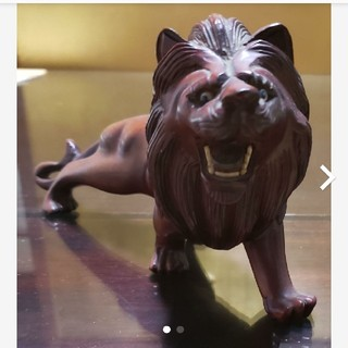 ライオンの置物(置物)