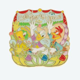 ディズニー(Disney)の三騎士ピンバッジ*ディズニーランド パーティグラ(キャラクターグッズ)