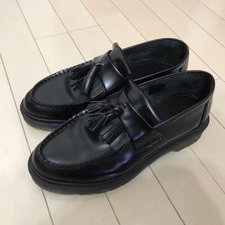 ドクターマーチン(Dr.Martens)の【極美品】Dr.Martens ドクターマーチン タッセルローファー 黒(ローファー/革靴)
