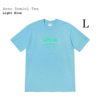 Supreme - Supreme  Anno Domini Tee  Light Blue  L