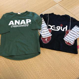 アナップキッズ(ANAP Kids)のアナップ エックスガールステージ(Tシャツ/カットソー)
