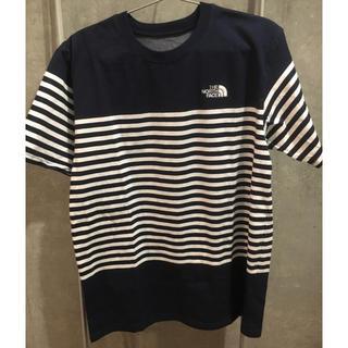 ザノースフェイス(THE NORTH FACE)のネイビー Lサイズ (Tシャツ/カットソー(半袖/袖なし))