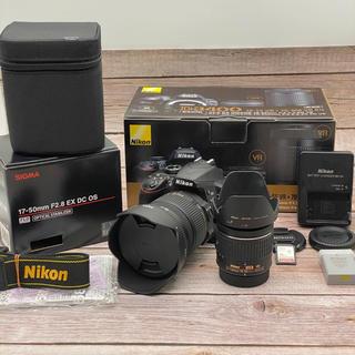 Nikon - Nikon D3400 レンズキット Sigma 17-50mm F2.8