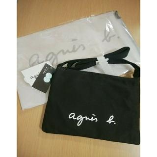 agnes b. - 新品⭐アニエスベーサコッシュ ボディバッグ ブラック
