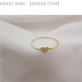 Spick and Span - 新品・未使用 松田未来さん愛用♡luijewelry  heart ring♡