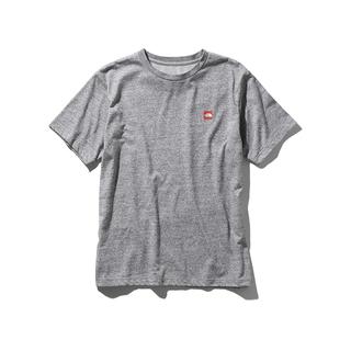 ザノースフェイス(THE NORTH FACE)の■極美品 ■ ノースフェイス スモールロゴ グレー Tシャツ L ボックスロゴ(Tシャツ/カットソー(半袖/袖なし))