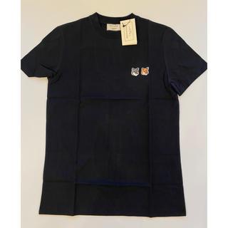 MAISON KITSUNE' - 【Mサイズ】新品 メゾンキツネ Maison Kitsune Tシャツ ブラック