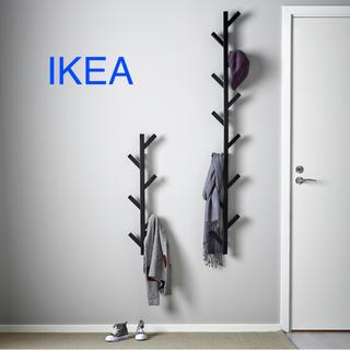 イケア(IKEA)のイケア IKEA フック TJUSIG シューシグ ブラック 1本(その他)