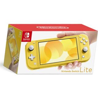 Nintendo Switch - ニンテンドースイッチライト イエロー 新品未開封 2019年9月新モデル