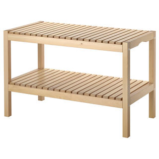 IKEA - 【IKEA】MOLGER ベンチ,バーチ
