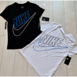 ナイキ(NIKE)の新品 NIKE ナイキ Tシャツ レディース ウィメンズ 半袖 白 黒 2点(ウェア)
