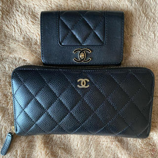 CHANEL - CHANEL マトラッセ 長財布 カードケース